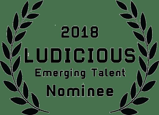 sticker-Ludicious18-emerging-talent-nominee