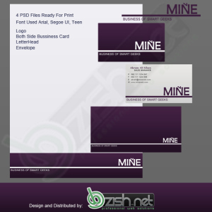 Corporate Identity (Mine) by Bazish