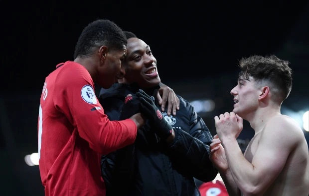 Dan James has claimed that he is faster than Manchester United teammate Marcus RashfordCredit: Getty