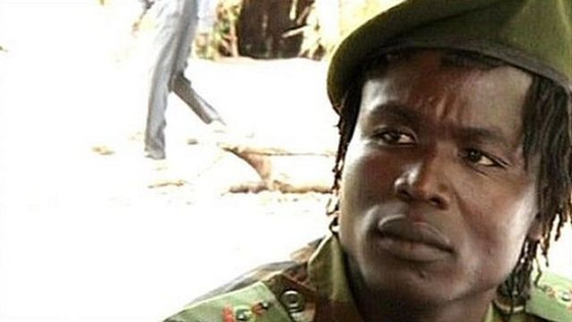 Former Lord's Resistance Army (LRA) commander Dominic Ongwen