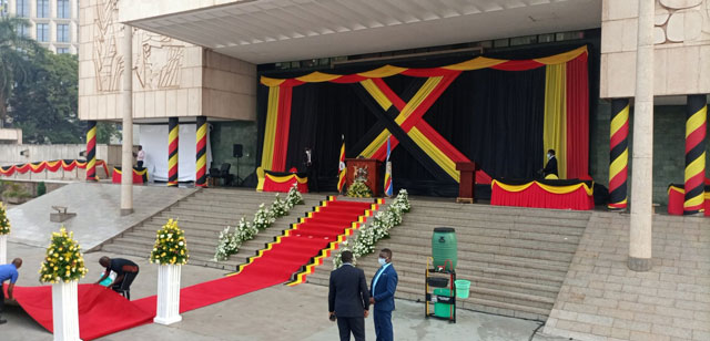 Swearing in Ceremony for the 11th Parliament starts
