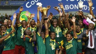 Africa Cup of Nations - Cameroon 2 - 1 Egypt in 2017