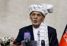 The UAE says it has welcomed Mr Ghani and his family on humanitarian grounds