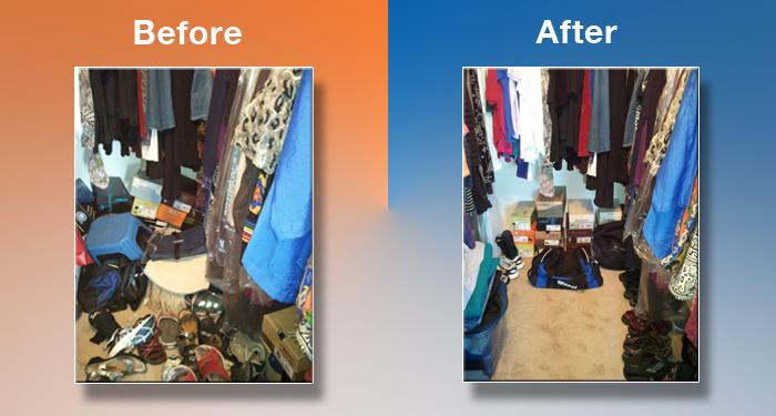 closet BB's Clutter Solutions