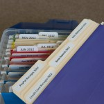 receipts file folders with BB's Brilliant Box System!