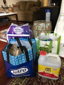 shopping trip clutter