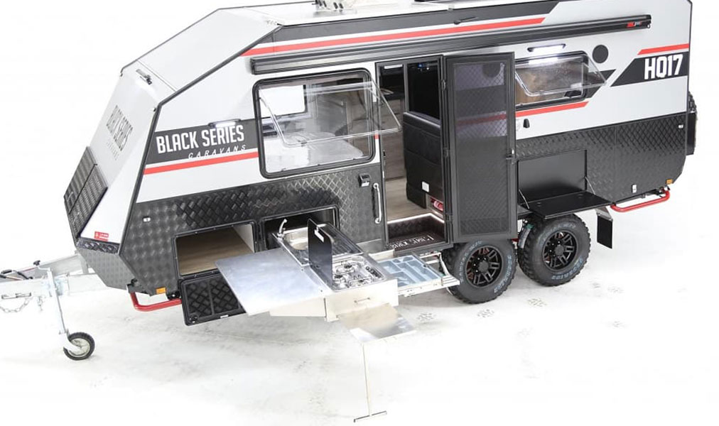 Black Series Trailers Built To Last Go Anywhere BampB RV
