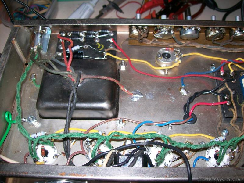 Potentiometer Pot Switch Fuse And Usually A Choke Transformer Wiring