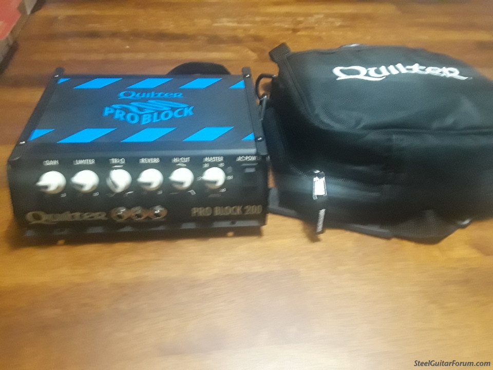 Quilter Problock 200 Micro Amp Head (pics Added) : The
