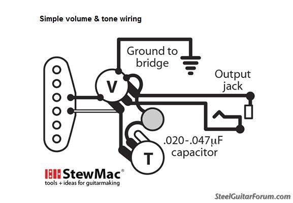 Simple Wiring Diagram Needed! : The Steel Guitar Forum
