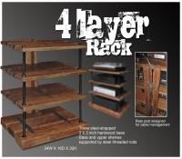 Download Wooden Audio Rack Cabinet Plans DIY wooden dowels ...