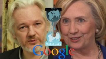 Julian Assange Wants To Take Down Google