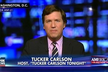 Tucker Carlson Blasts Media For Attacking Trump's Cabinet Picks