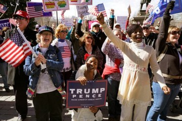 Trump Supporters Organize Their Own Rallies To Counter Protests