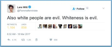 Vogue Writer: 'All White People Are Evil'