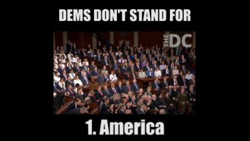 Here's 7 Things Democrats Didn't Stand For During Trump's Address