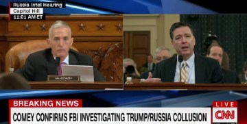 Gowdy Presses Comey On Intelligence Community Leaks (Video)