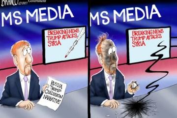Cartoon: The Trump Attack