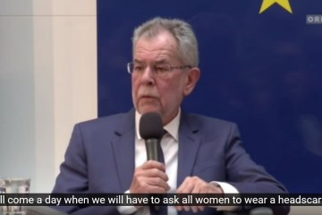 Far-Left Liberal Austrian President Says Day Will Come When All Women Must Wear Headscarf (Video)