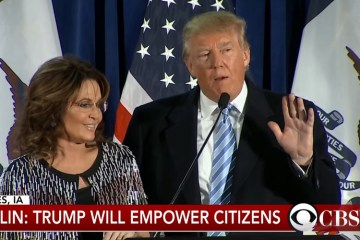 Sarah Palin On Trump's First 100 Days (Audio)