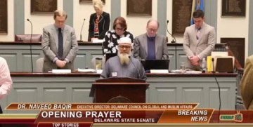 Sharia In Delaware: State Senate Opens With Muslim Prayer, Then Imam Does This DISGUSTING Thing During Pledge Of Allegiance (Video)