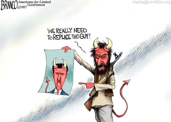 Cartoon: The Devil Incarnate