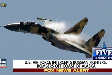 U.S. Air Force Fighter Jets Intercept Russian Bombers Again… Guess Where? (Video)