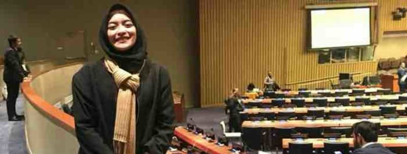 Business Administration Student in Future We Want Model United Nations Conference (FWWMUN) 2018