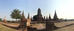 The Old Capitol of Bangkok. Ruins that were absolutely breathtaking.