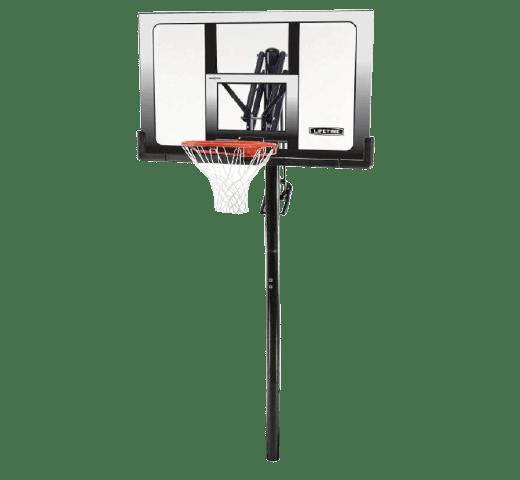 Lifetime 52 Steel-framed Shatterproof Portable Basketball Hoop, 71281