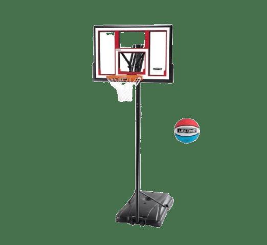 Lifetime Steel-Framed Portable Basketball Hoop