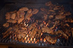 2016 New Year's day braai... why not? Even in Ireland!!