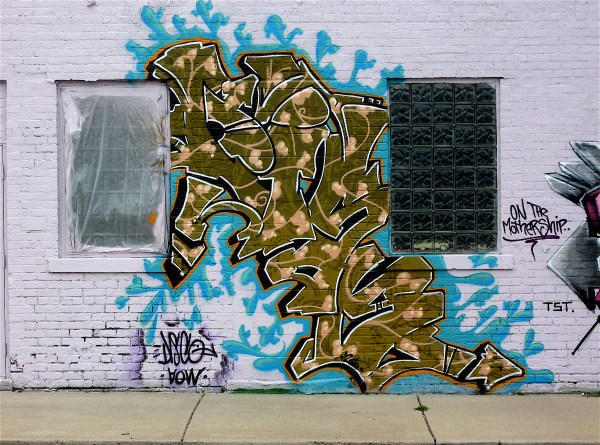 Graffiti Art In Detroit Part 5 Masterpieces Bikes Books & Little Music