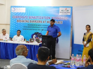Mr. S. P. Dwivedi - Asst. Director Employment Regional Exchange shares his thoughts