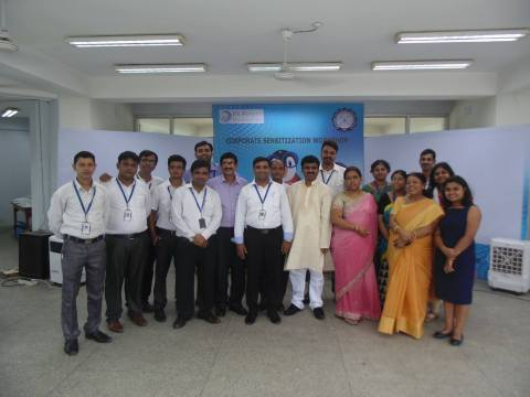Our Kolkata Territory team poses for a photograph post the workshop