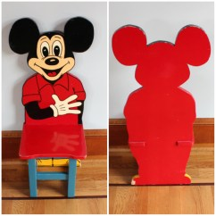 Mickey Mouse Armchair Uk 2 Chair Table Set For Bedroom F3136 Of 4 Child Chairs Bogart