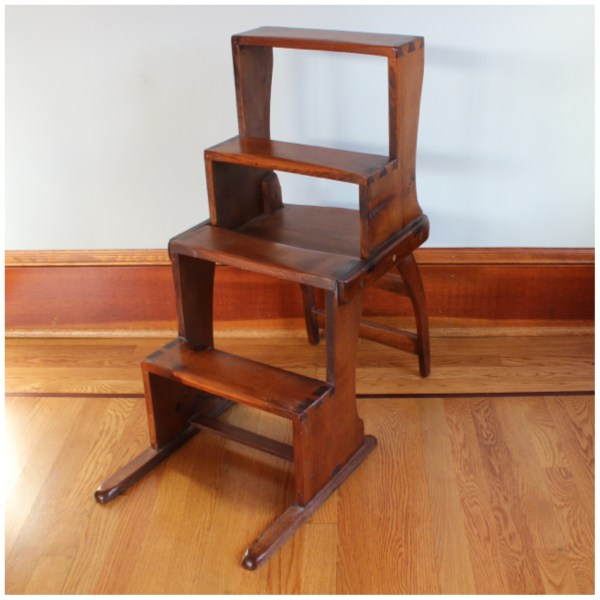 Kitchen Step Stool Chairs
