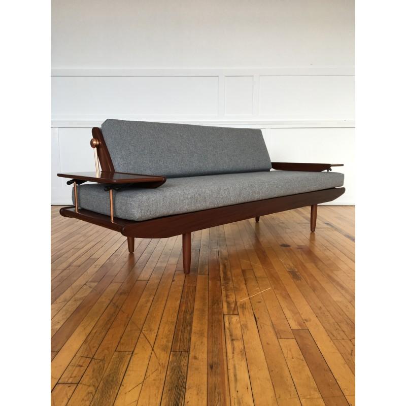 danish style sofa bed uk cream colored sofas midcentury british 1960's by ...
