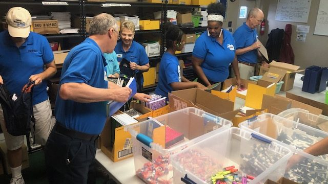 ADFAC offers Schools Supplies to kids in need