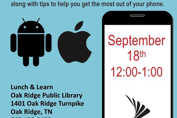 Public Library Hosts Lunch & Learn for Smartphone Users
