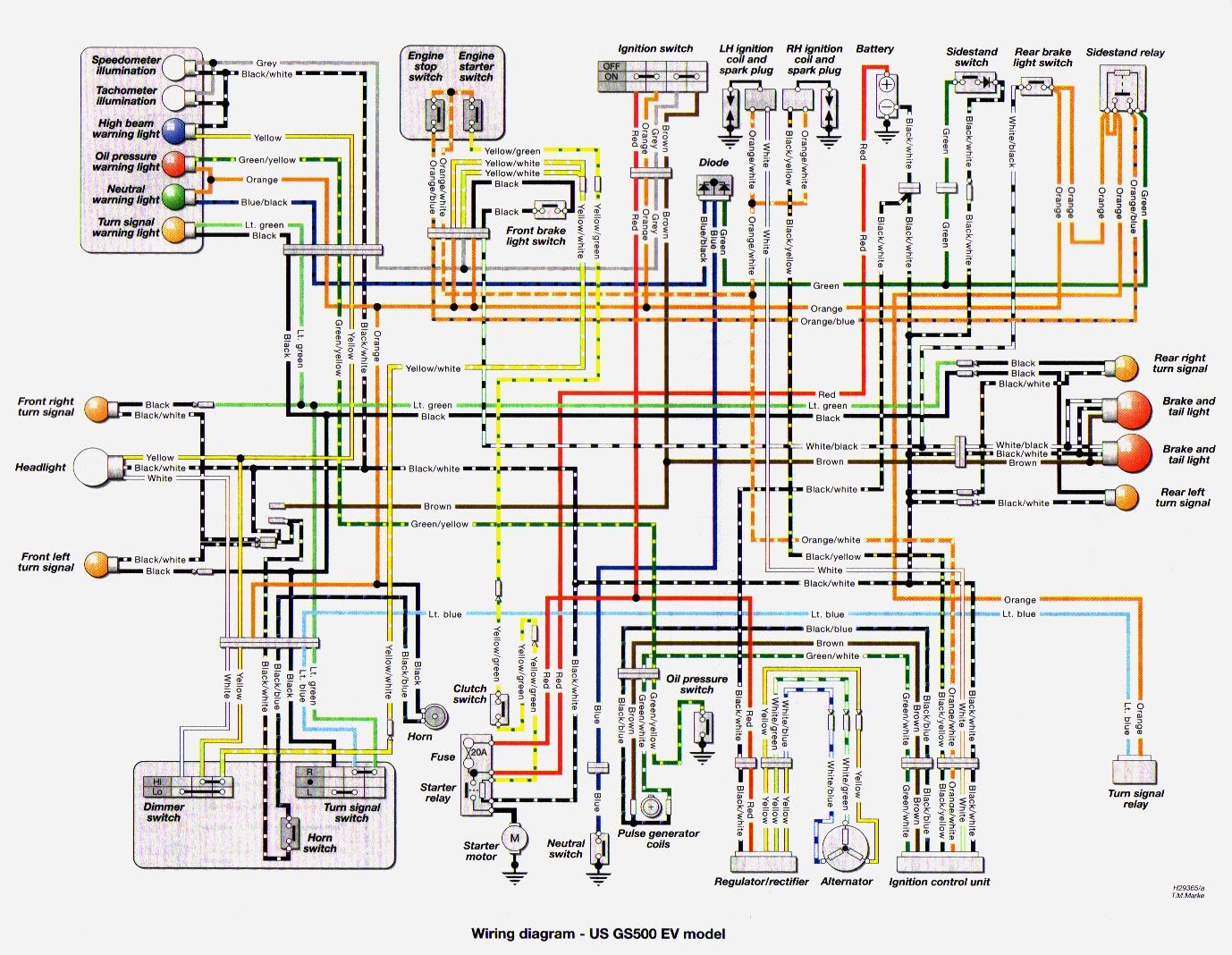 2005 gs500 wiring diagram
