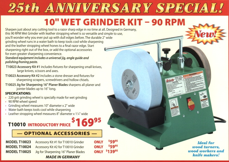 Grizzly Sharpener Review