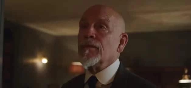 John Malkovich as Hercule Poirot on BBC