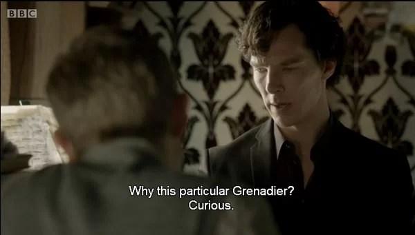 Watching Sherlock: The Sign of Three on BBC iPlayer