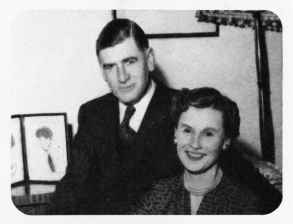 Sir Geoffrey and Lady Barnett