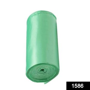 """Bio-degradable Eco Friendly Garbage/Trash Bags Rolls (24"""" x 32"""") (Green) (Pack of 20)"""