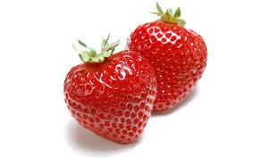 strawberries radiant skin