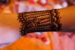 Indian Henna wrist design Saras Henna
