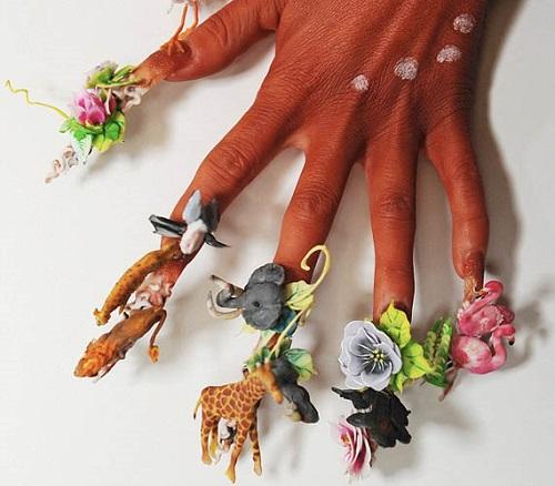3D Nail Art manicure trends