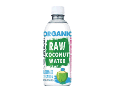 organic raw coconut water